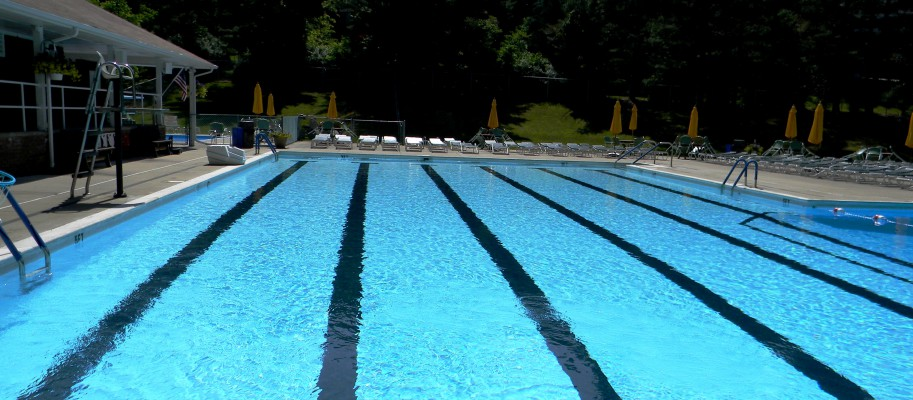 Rose Garden Pool's Six Lane, 25 Meter Main Pool